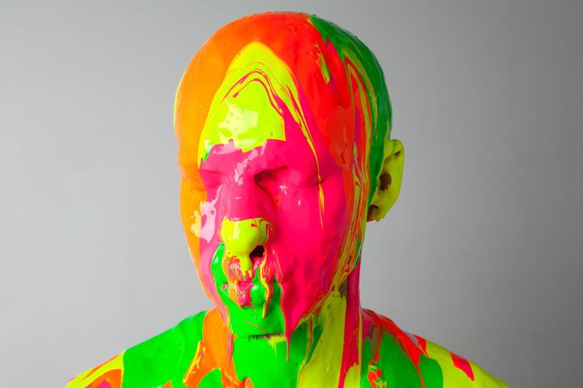 Homme peinture
